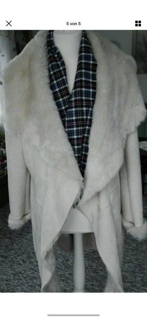 Rino & Pelle Cappotto in eco pelliccia crema