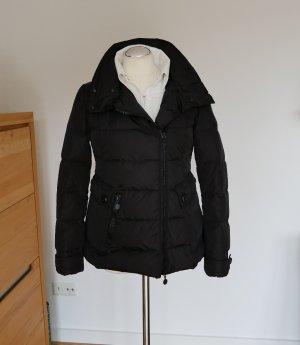 Wie neu, 100% Original: Moncler Daunenjacke schwarz Gr.2 /38 Jacke Daunen Damen