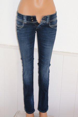 wie neu!  25 ● PEPE ● Kult Jeans Mod. VENUS ● Slim Fit Stretch  Blau ●● SALE