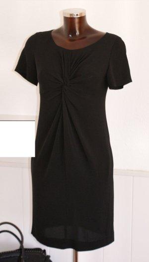 wie neu 34 38 MOSCHINO CHEAPANDCHIC Seidenkleid Sommer Kleid Schwarz Seide