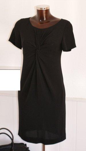 wie neu! 34 MOSCHINO CHEAPANDCHIC Luxus Seidenkleid in Schwarz Kleid