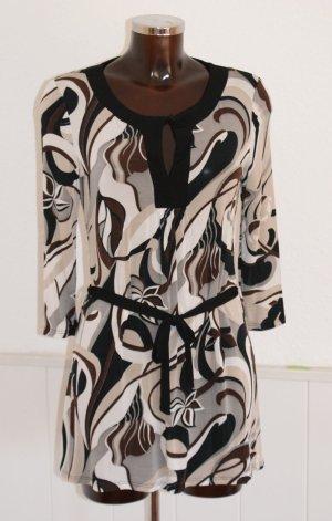 wie neu! 36 38 SINÉQUANONE Tunika Kleid im aktuellen Retro Look ~ stretch