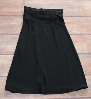 Jil Sander Silk Skirt black silk