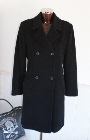 wie neu! 40 ● RENÉ LEZARD ● Luxus Wollmantel Mantel Wolle klassischer Look