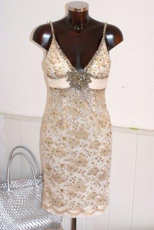 wie neu! 8 DT 34 - MANDALAY - Luxus Kleid Cocktailkleid Brautkleid - Jades Ddorf