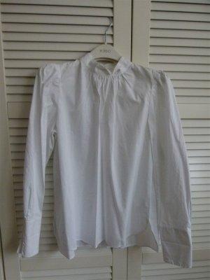 Wie neu! Bluse H&M mit Puffärmeln Baumwolle Gr. 42