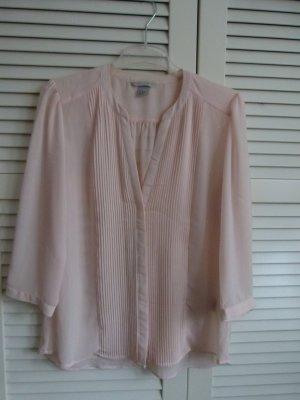 Wie neu! Bluse von H&M nude leicht transparent Gr. 40/42