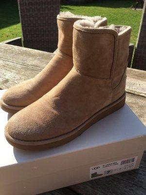 Wie NEU Boots UGG Gr. 38 Abree Mini fawn Sand Stiefellette