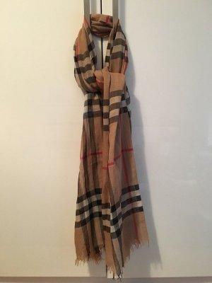 Burberry Zijden sjaal zandig bruin-beige