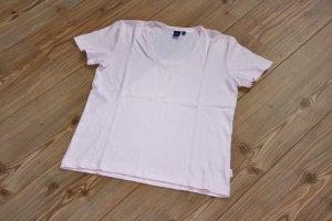 wie NEU / CECIL T-Shirt mit V-Ausschnitt / Rosa / Pastellfarben / Gr. M