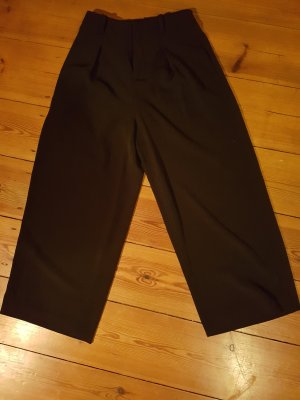 Comptoir des Cotonniers Pantalón de cintura alta negro Poliéster