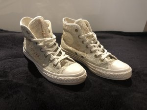 Converse High Top Sneaker gold-colored-natural white