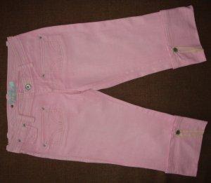 Mango Capris pink cotton