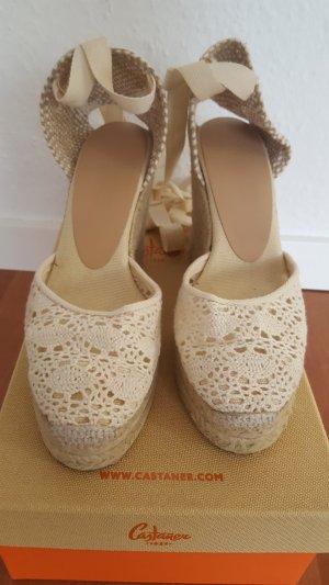 Castañer Espadrillas bianco sporco-beige chiaro