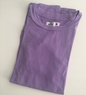 Wie Neu Hollister T-Shirt in usedlook lila Gr. M