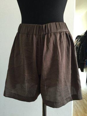 H&M Shorts marrone Raso