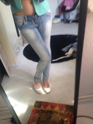 wie neu, Hüft push up Jeans 34
