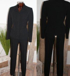 Prada Tailleur pantalone nero Lana vergine