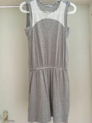 Wie neu: Kleid aus Wolle und Leinen in weiß von Esprit, NEU