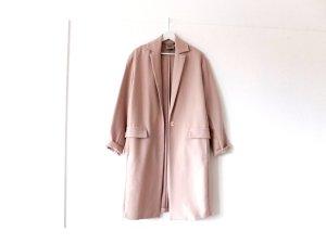 wie neu langer staub rosa Asos oversized Trenchcoat Gr. 40 nude