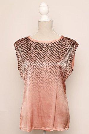 Wie neu ! Marc Cain Top Shirt Bluse Seide 40 N 4 rosa NP 179,90