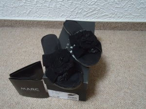 MARC Mules black leather