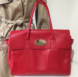 Mulberry Carry Bag red leather