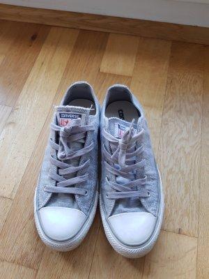 wie neu: orig. Converse Sneaker in Gr. 37 grau