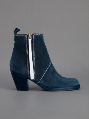 wie NEU! Original Acne // Pistol Boots // 37 blau