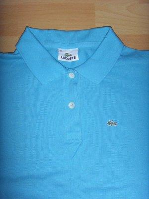 *wie NEU* Original Lacoste Polo Shirt Türkis Gr. S 36