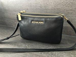 Wie NEU - Originale Michael Kors Handtasche Leder schwarz Umhängetasche Handtasche