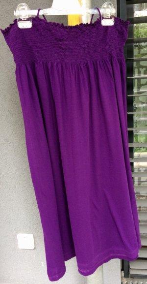 Wie Neu Petit Bateau Bandeaukleid violett Gr. M