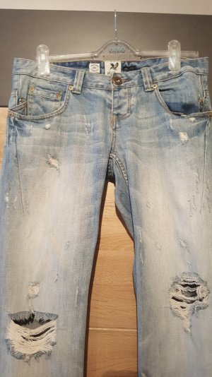 *Wie Neu: River Island Destroyed Jeans UK 10R/38