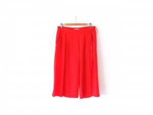 wie neu rote Mango Suit Culotte Gr. 40 weite Hose