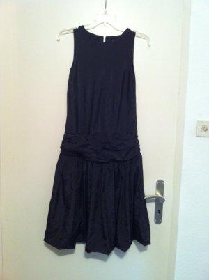 Vestido tipo overol negro Poliéster