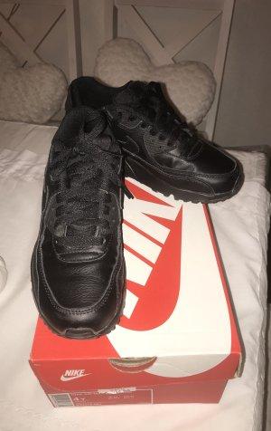 Wie Neu Schwarze Nike Air Max Leder Gr. 36