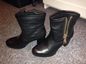 Wie neu schwarze Stiefel Gr. 38