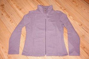 wie NEU / Street One / Sweat-Shirt Jacke Modell Jenny / Lila / Flieder / Gr. 40