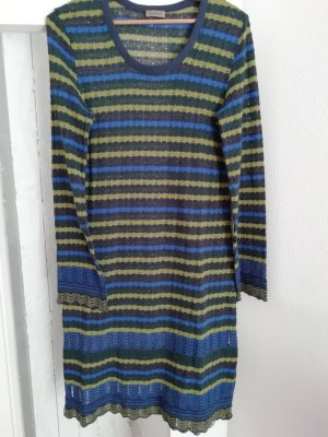 Qiero Knitted Dress multicolored cotton