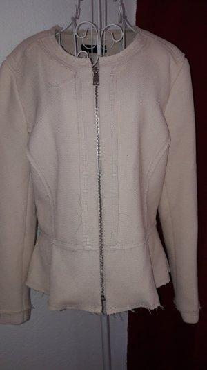 Wie Neu ! Taillierter Blazer/Jacke altrosa mit Strukturmuster Gr.42 H&M