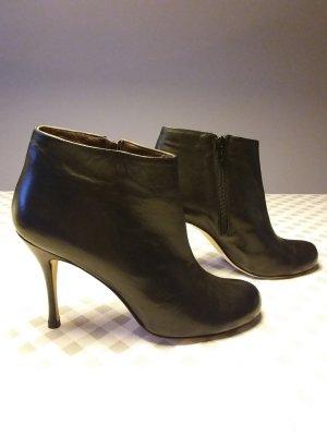 Bartu Botas de tobillo negro Cuero