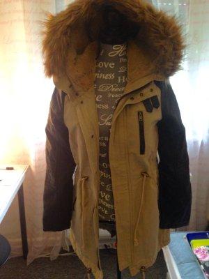 Fake Fur Jacket light brown