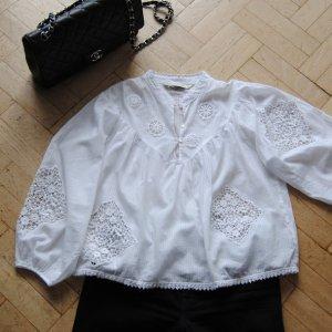Wie neu: Zara Spitzen Bluse L