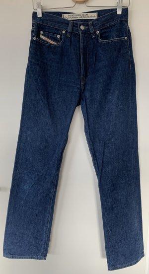 Diesel Industry Jeans a carota blu