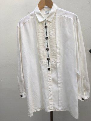 gössl Folkloristische blouse wit