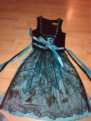 Tramontana Dirndl nero-azzurro