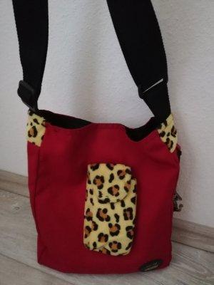 Nici Shoulder Bag light orange-dark red