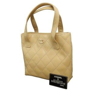Chanel Borsetta beige Pelle