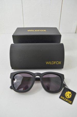 WILDFOX Damen Sonnenbrille Mod.THE JULIET Schwarz Matt Sterne Neu!