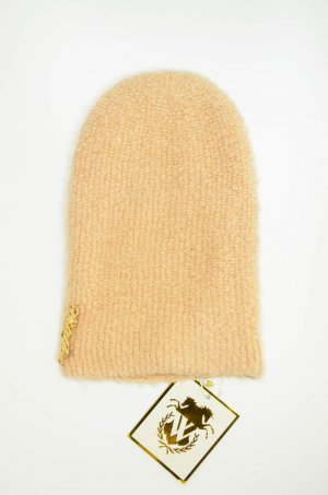 WILDFOX Mütze Beanie Grau MORNING MIST Nude BROWN EGG Wolle Accessoire NEU!!!